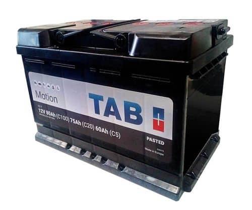 TAB indító akkumulátor 12V 80Ah c100