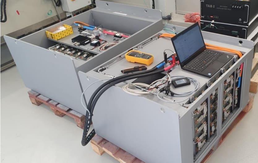Li-ion akkumulátor belső