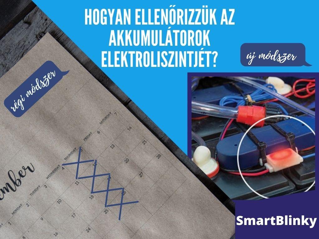akkumulátor ellenőrzési módszer